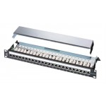 Hellermann Tyton C6 Ecoband 24 Port 1U Right Angled Patch Panel