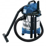 Draper 20l 1250w Wet & Dry Vacuum Cleaner with Stainless Steel Tank